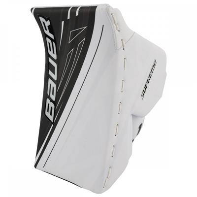 White/Black (Bauer Supreme 1S OD1N Goalie Blocker - Senior)