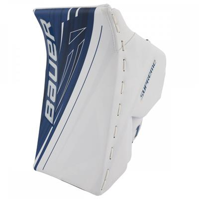 White/Blue (Bauer Supreme 1S OD1N Blocker)