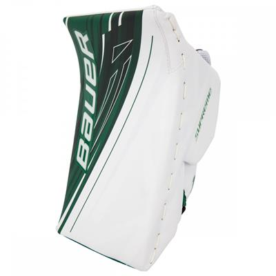 White/Green (Bauer Supreme 1S OD1N Blocker)