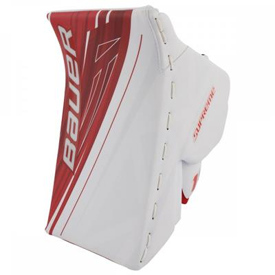 White/Red (Bauer Supreme 1S OD1N Blocker)