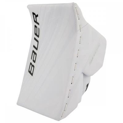 White/White (Bauer Supreme 1S OD1N Blocker)