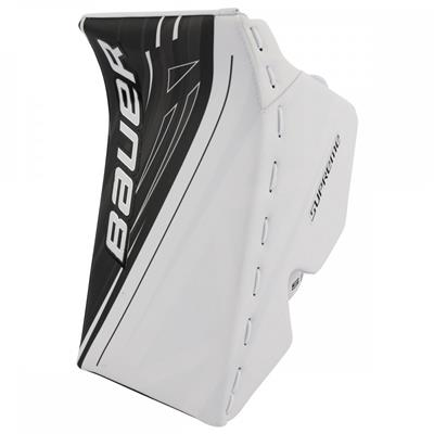 White/Black (Bauer Supreme S190 Goalie Blocker)
