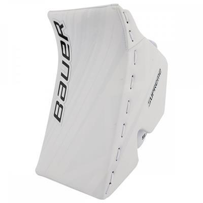 White/White (Bauer Supreme S190 Blocker)