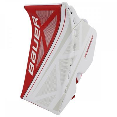 White/Red (Bauer Supreme S170 Goalie Blocker - 2017)