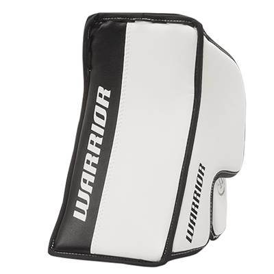 White/Black (Warrior Ritual G3 Classic Goalie Blocker - Junior)