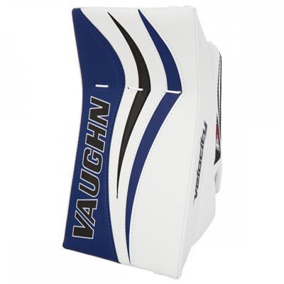 White/Blue/Black (Vaughn Velocity 7 XR Pro Goalie Blocker)