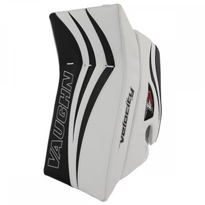 White/Black (Vaughn Velocity 7 XR Pro Goalie Blocker)