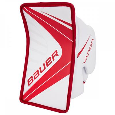 White/Red (Bauer Vapor X700 Goalie Blocker - Junior)