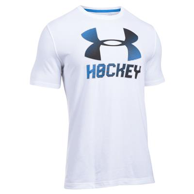 White/Black (Under Armour Hockey Logo Tee)