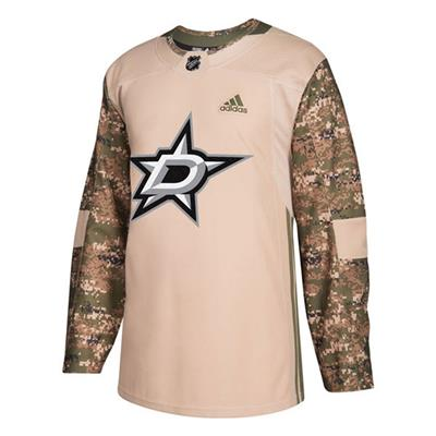 Front (Adidas Dallas Stars Camo Jersey - Adult)