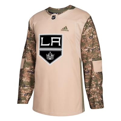 Front (Adidas Los Angeles Kings Camo Jersey)