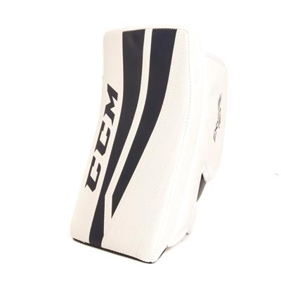 White/Navy (CCM Extreme Flex II 760 Goalie Blocker)