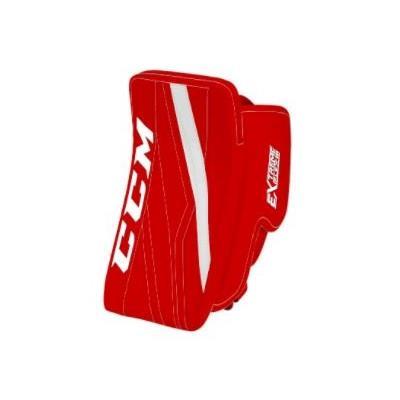 Red/White (CCM Extreme Flex E3.5 Goalie Blocker)
