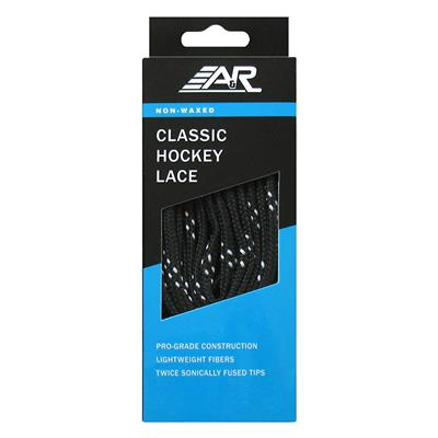 Black (A&R Classic Hockey Lace)