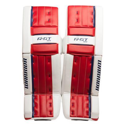 Red/White/Blue (Warrior Ritual GT Classic SE Goalie Leg Pads - Senior)