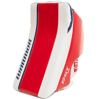 Red/White/Blue (Warrior Ritual GT Classic SE Goalie Blocker)