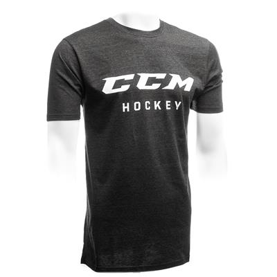Black w/ White Logo (CCM Black Exclusive Tee w/ White Logo - Mens)