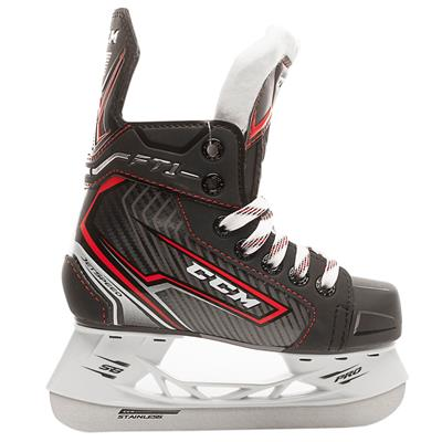 Outside (CCM Jetspeed FT1 Ice Hockey Skates - Youth)