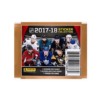 (Panini 2017-18 NHL Sticker Pack)