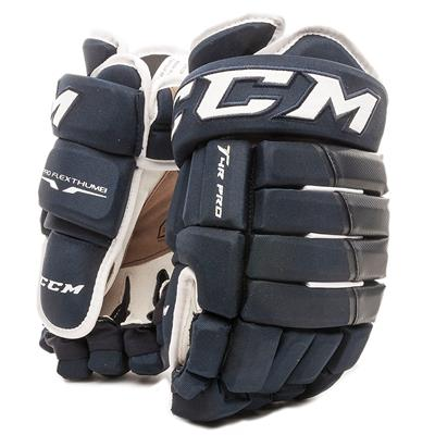 Navy (CCM 4R Pro Hockey Gloves - Senior)