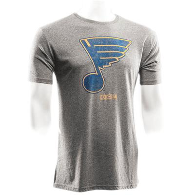 St. Louis Blues (CCM St. Louis Blues Heritage Logo Short Sleeve Tee)