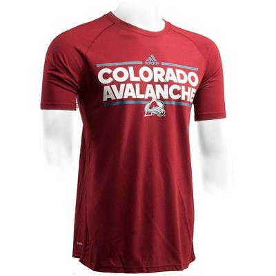 Front (Adidas Colorado Avalanche Dassler Short Sleeve Tee)