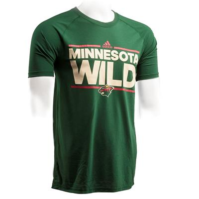 Minnesota Wild (Adidas Minnesota Wild Dassler Short Sleeve Tee - Mens)