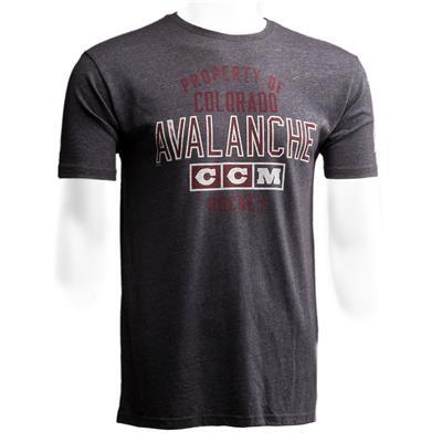 Colorado Avalanche (CCM Colorado Avalanche Team Property Short Sleeve Tee - Mens)