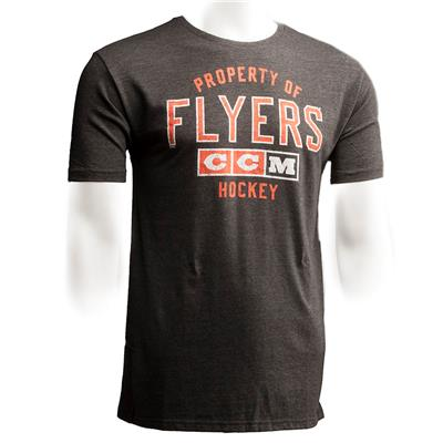 Philadelphia Flyers (CCM Philadelphia Flyers Team Property Short Sleeve Tee)