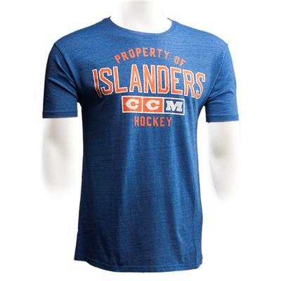 New York Islanders (CCM New York Islanders Team Property Short Sleeve Tee)