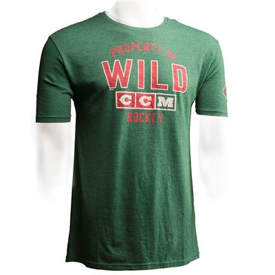 Minnesota Wild (CCM Minnesota Wild Team Property Short Sleeve Tee)