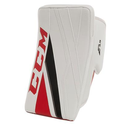 White/Red/Black (CCM Extreme Flex E3.9 Goalie Blocker)