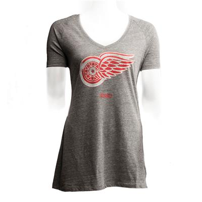 Front (CCM Detroit Red Wings Heritage Logo Tee)