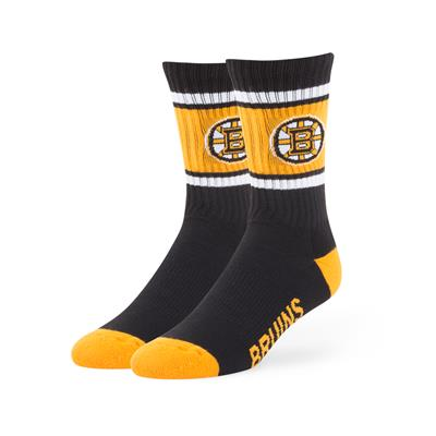 Boston Bruins (47 Brand NHL Team Duster Crew Socks)