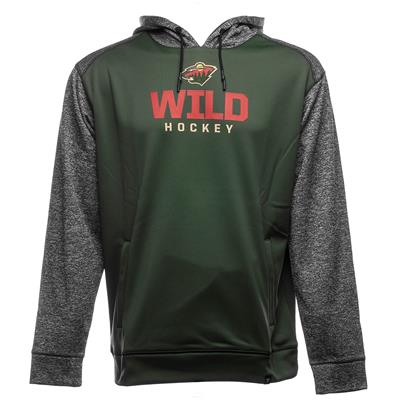 Front (Fanatics Minnesota Wild Static Fleece Hoody)