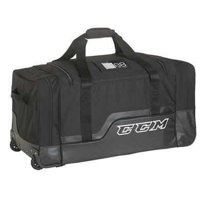 """Black (CCM 280 Deluxe Wheel Bag - 33"""")"""