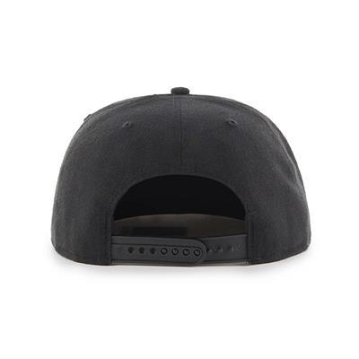 Back (47 Brand Anaheim Ducks Sure Shot Throwback Snapback Hat)