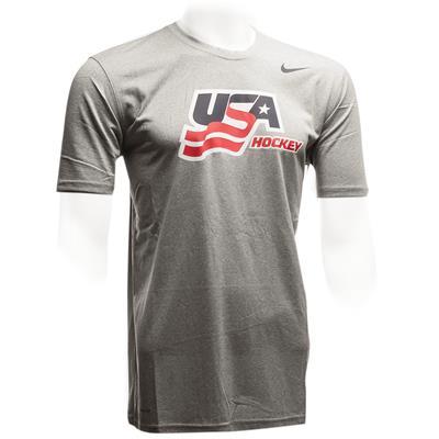 (Nike USA Hockey Legends Short Sleeve Tee)