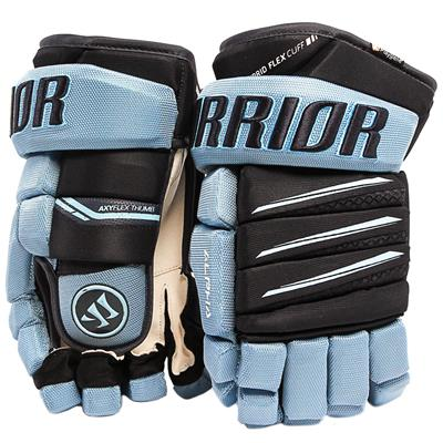 Carolina Blue/Navy (Warrior Alpha Pro Hockey Gloves)