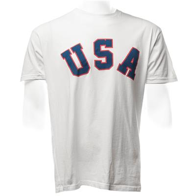 Front (1980 Jim Craig Miracle USA Hockey Jersey Tee)