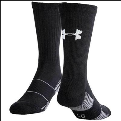 Black (Under Armour Team Crew Sock)