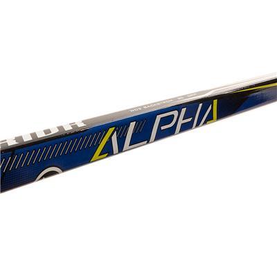 (Warrior Alpha QX3 Grip Composite Hockey Stick - Senior)