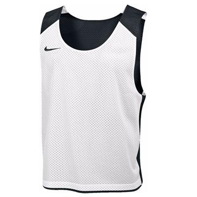 Black/White (Nike Mens Reversible Mesh Tank)