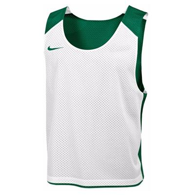 Dark Green/White (Nike Mens Reversible Mesh Tank)