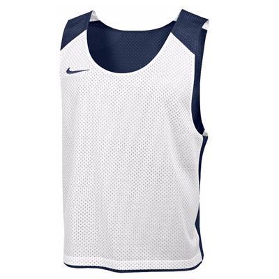Navy/White (Nike Mens Reversible Mesh Tank)