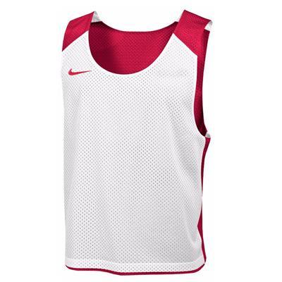 Red/White (Nike Mens Reversible Mesh Tank)