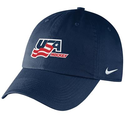 Front (Nike USA Hockey RiNK Cap - Adult)