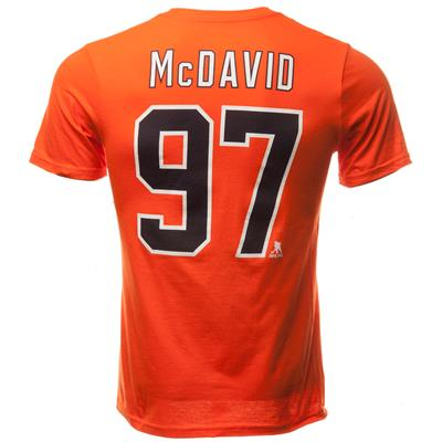 (Edmonton Oilers McDavid Short Sleeve Tee)