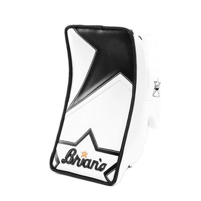 White/Black (Brians Heritage Goalie Blocker - Senior)