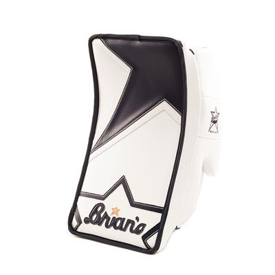 White/Navy (Brians Heritage Goalie Blocker)